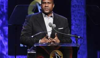 FILE - In this April 27, 2016 file photo, Tavis Smiley appears at the 33rd annual ASCAP Pop Music Awards in Los Angeles. Smiley said that he isn't just angry at PBS for firing him on sexual misconduct charges. He's angry about his depiction in the media. (Photo by Rich Fury/Invision/AP, File)