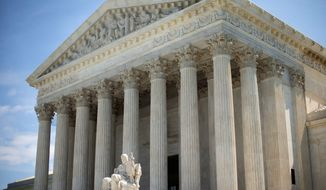 """Earlier this year, the Supreme Court took action against the wrong men because they had similar names. Court-watchers say this kind of error is """"exceedingly rare."""" (Associated Press)"""