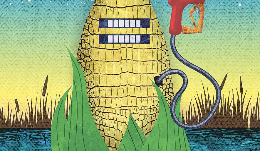 Swamp Gas Illustration by Greg Groesch/The Washington Times
