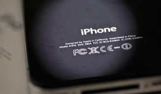 Apple is apologizing for secretly slowing down older iPhones, which it says was necessary to avoid unexpected shutdowns related to battery fatigue. The company issued the statement on its website Thursday, Dec. 28, 2017. (AP Photo/Karly Domb Sadof, File)