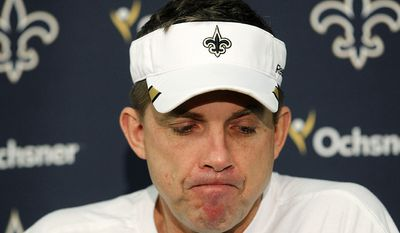 "New Orlean Saints Bountygate - The New Orleans Saints bounty scandal was an incident in which members of the  Saints were accused of paying out bonuses, or ""bounties"", for injuring opposing team players. None of the hits in question were ever penalized or deemed illegal by in-game officials. The pool was alleged to have been in operation from 2009 (the year in which the Saints won Super Bowl XLIV) to 2011. NFL Commissioner Roger Goodell responded with some of the most severe sanctions in the league's 92-year history, and among the most severe punishments for in-game misconduct. Defensive coordinator Gregg Williams was suspended indefinitely, though this would be overturned the following year. Head coach Sean Payton was suspended for the entire 2012 seasonthe first time in modern NFL history that a head coach has been suspended for any reason. General manager Mickey Loomis was suspended for the first eight games of the 2012 season. Assistant head coach Joe Vitt was suspended for the first six games of the 2012 season. The Saints organization was fined $500,000, and forced to forfeit their second-round draft selections in 2012 and 2013. On May 2, 2012, four current and former Saints players were suspended after being named as ringleaders in the scandal, with linebacker Jonathan Vilma also being suspended for the entire 2012 seasonthe longest suspension for an on-field incident in modern NFL history. However, former NFL commissioner Paul Tagliabue overturned all sanctions against the players on December 11, 2012 after finding that the coaches were primarily responsible for the scandal."