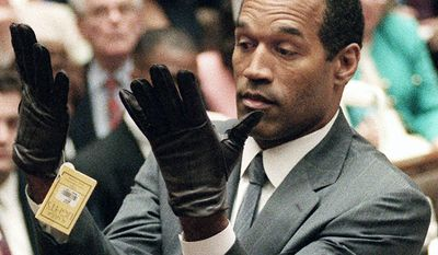 """The O. J. Simpson murder case - """"The Trial of the Century"""" was held at the Los Angeles County Superior Court in which former NFL great, O. J. Simpson was tried on two counts of murder for the June 12, 1994, deaths of his ex-wife Nicole Brown Simpson and Ronald Goldman. After the highly publicized low-speed chase in his white Ford Bronco and the televised trial, Simpson was declared not guilty of murder on both counts. Following Simpson's acquittal, no additional arrests or convictions related to the murders have been made. According to the newspaper USA Today, the case has been described as the """"most publicized"""" criminal trial in history. The Brown and Goldman families subsequently filed a civil lawsuit against Simpson. On February 4, 1997, the jury unanimously found Simpson responsible for both deaths. The families were awarded compensatory and punitive damages totaling $33.5 million but have received only a small portion of that."""