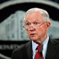 Gun-rights activists chalk up the rise in prosecutions to new Justice Department policies issued by Attorney General Jeff Sessions highlighted by a March memo. (Associated Press)