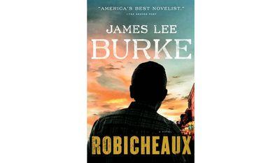 "Book jacket: :Robicheaux,"" by James Lee Burke"