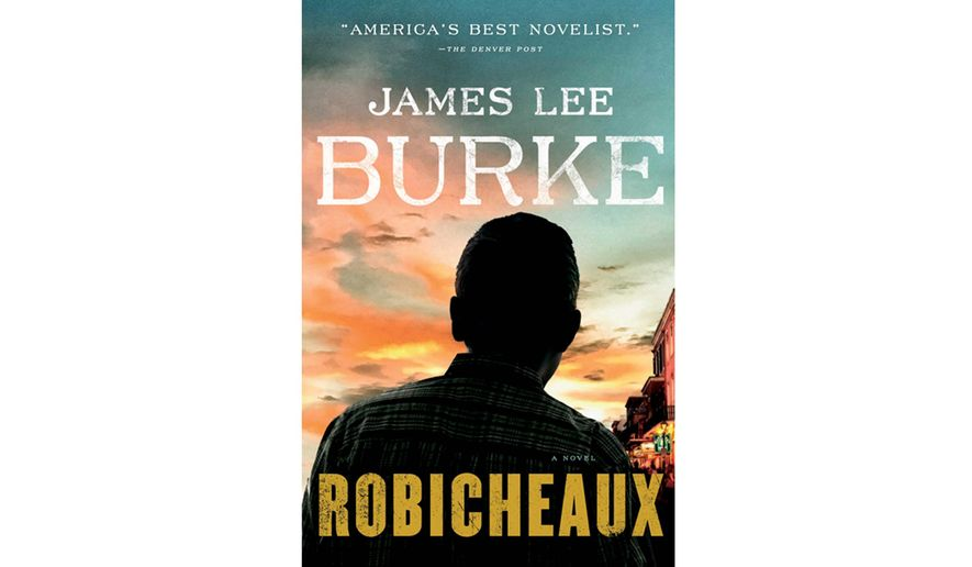 "Book jacket: :Robicheaux,"" by James Lee Burke"