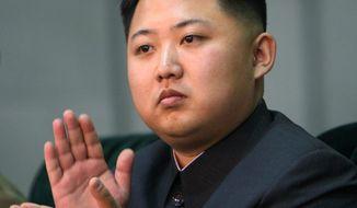 North Korean leader Kim Jong-un. (Associated Press) ** FILE **