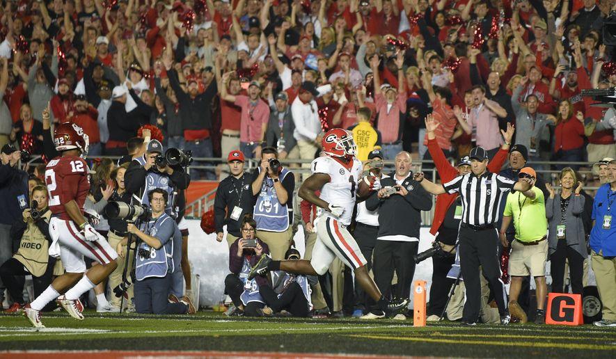 Dawgs run wild: Georgia beats Oklahoma in Rose Bowl