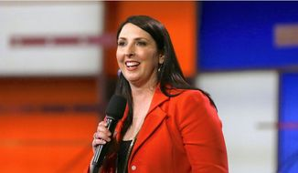 Republican National Committee Chairwoman Ronna Romney McDaniel says the GOP has been gearing up for the midterm elections. (Associated Press)