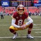 Washington Redskins quarterback Kirk Cousins said on Tuesday he's not in a hurry to sign a new deal with the team as he expects much of the league free-agent action to pick up in March. (Associated PRess)