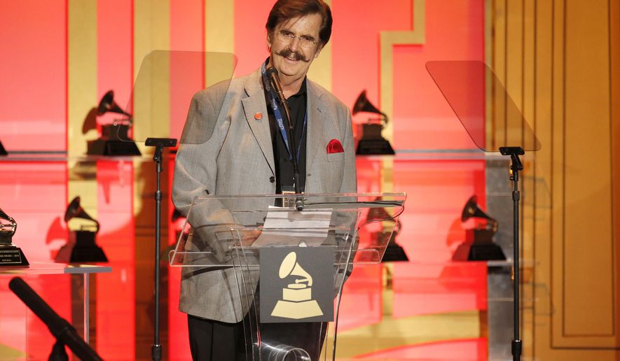 "FILE - In this Jan. 25, 2014, file photo, Rick Hall attends The 56th Annual GRAMMY Awards - Special Merit Awards Ceremony in Los Angeles. Hall, an Alabama record producer who recorded some of the biggest musical acts of the 1960s and `70s and helped develop the fabled ""Muscle Shoals sound,"" died Tuesday, Jan. 2, 2018, following a fight with cancer, his longtime friend Judy Hood said. He was 85.  (Photo by Todd Williamson/Invision/AP, File)"