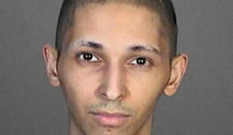This 2015 booking photo released by the Glendale, Calif., Police Department shows Tyler Barriss. The attorney for the family of a Kansas man fatally shot at the door of his home after a hoax emergency call wants the police officer who killed him criminally charged for his death. Police have said 28-year-old Andrew Finch was shot after a prankster called 911 last week with a fake story about a shooting and kidnapping at Finch's Wichita home. In a letter Tuesday, Finch's mother, Lisa Finch, says officials are compounding the family's grief by not allowing her to see her son's body. Barriss is suspected of making the hoax emergency call and is in custody in Los Angeles. (Glendale Police Department via AP)