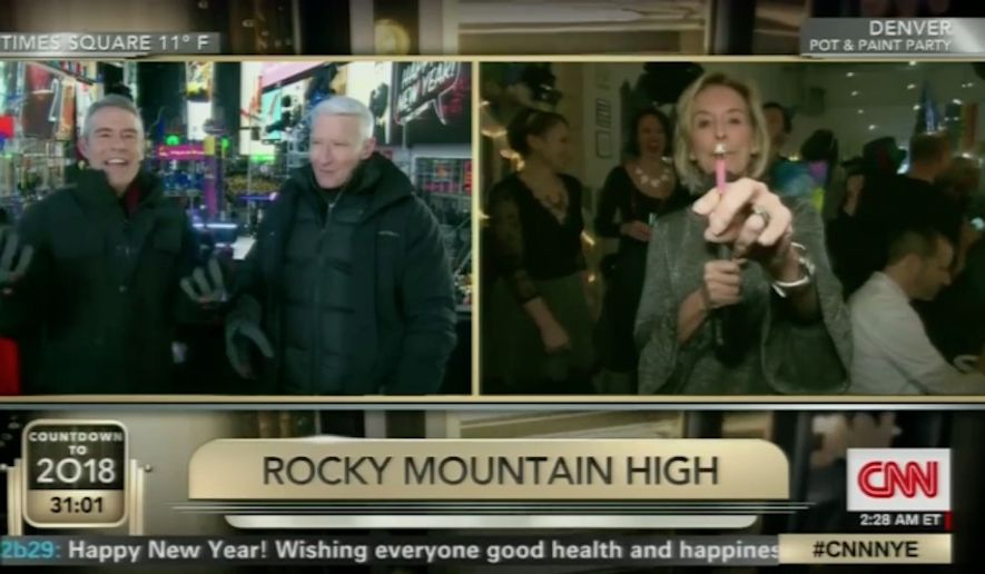 """CNN host Anderson Cooper said Tuesday night that he was as """"surprised"""" as everyone else who watched the network's controversial New Year's Eve coverage of a pot party in Colorado. (CNN)"""