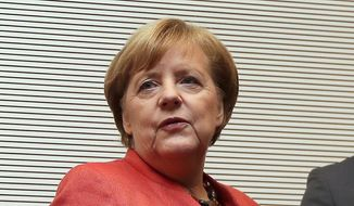 Angela Merkel. (Associated Press) ** FILE **