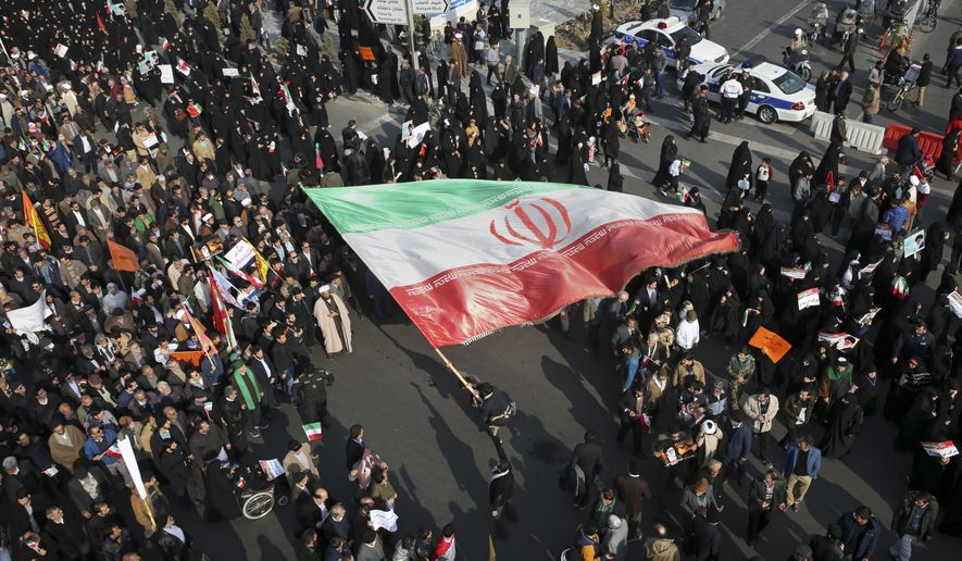 Ordinary Iranians are coming to realize that the regime has destroyed the economy and mortgaged the future in order to finance military and terrorist adventures across the Middle East and Europe. (Associated Press/File)