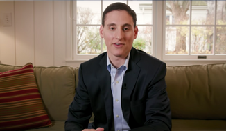 Ohio's Republican state treasurer Josh Mandel, shown here, announced on Jan. 5, 2018 that he was bowing out of a planned 2018 run for the U.S. Senate. (Josh Mandel/YouTube)