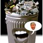Illustration on trash talking about President trump by Alexander Hunter/The Washington Times