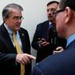 "Rep. John Culberson, Texas Republican, said, ""The time is right"" to consider a return to earmarks. He is pushing for a test run so Congress can prove it can be responsible. (Associated Press/File)"