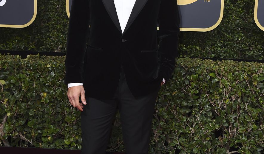 James Franco arrives at the 75th annual Golden Globe Awards at the Beverly Hilton Hotel on Sunday, Jan. 7, 2018, in Beverly Hills, Calif. (Photo by Jordan Strauss/Invision/AP)