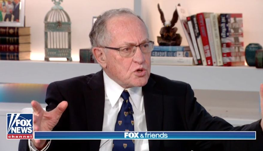 Civil liberties lawyer Alan Dershowitz. (Fox News) ** FILE **