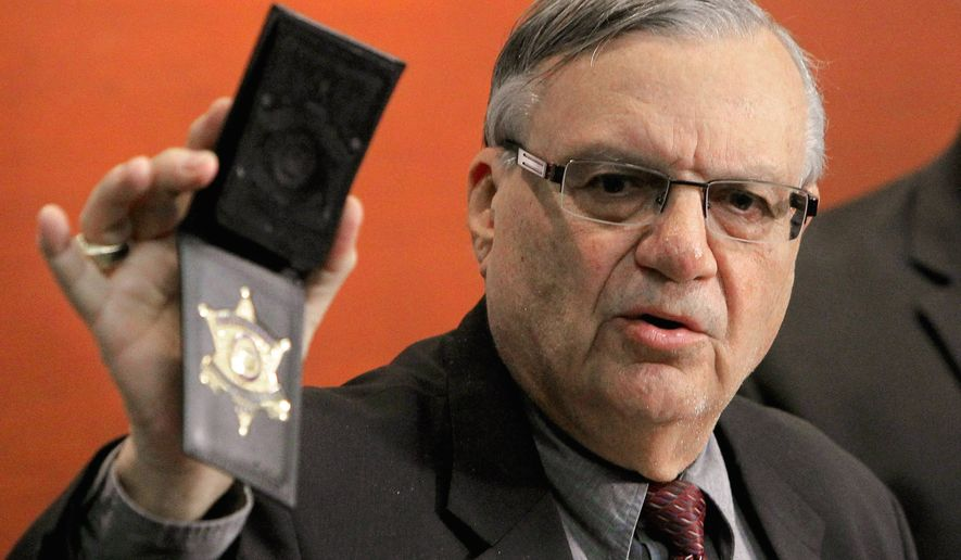 Former Maricopa County Sheriff Joe Arpaio announced Tuesday, Jan. 9, 2018, that he plans to run for the U.S. Senate seat now held by Republican Jeff Flake. (AP Photo/Ross D. Franklin, File)
