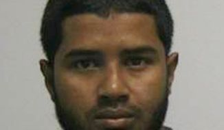 This undated photo provided by the New York City Taxi and Limousine Commission shows Akayed Ullah, the suspect in the explosion near New York's Times Square on Monday, Dec. 11, 2017. Ullah is suspected of strapping a pipe bomb to his body and setting off the crude device in a passageway under 42nd Street between Seventh and Eighth Avenues, injuring himself and a few others. (New York City Taxi and Limousine Commission via AP)