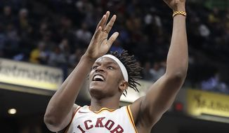 Indiana Pacers' Myles Turner shoots during the second half of an NBA basketball game against the Milwaukee Bucks, Monday, Jan. 8, 2018, in Indianapolis. (AP Photo/Darron Cummings)