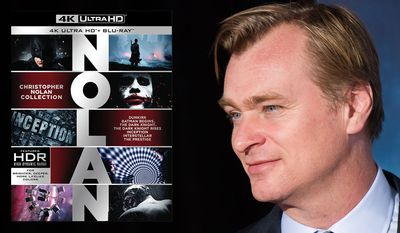 Warner Bros. Home Entertainment's Christopher Nolan Collection offers ultra high-definition version of seven of the director's best films.