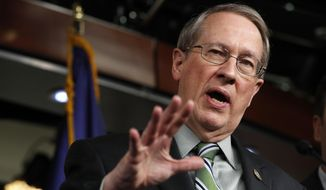 House Judiciary Committee Chairman Rep. Bob Goodlatte, R-Va., is shown in this file photo from Wednesday, Jan. 10, 2018, on Capitol Hill in Washington. (AP Photo/Jacquelyn Martin) ** FILE **