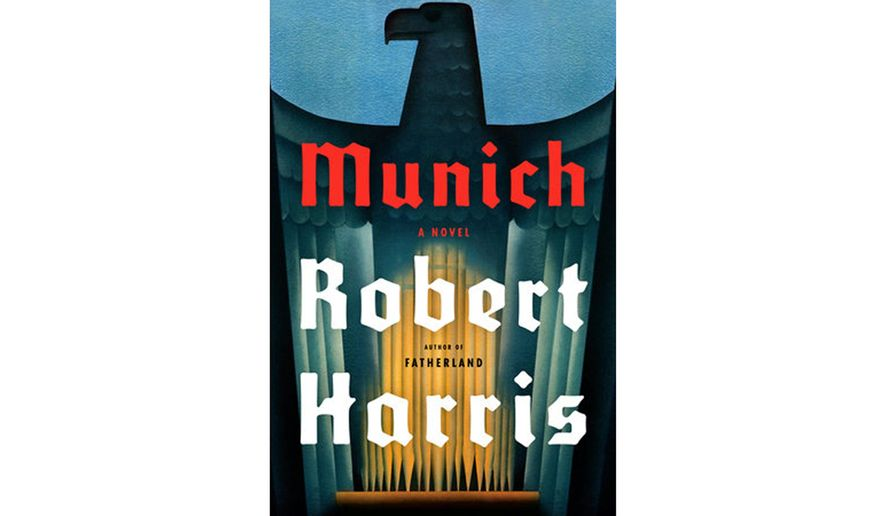 "Book jacket: ""Munich"" by Robert Harris"