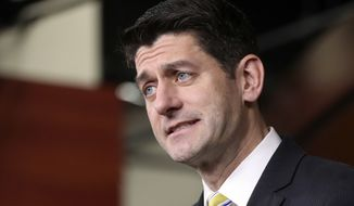 """House Speaker Paul D. Ryan acknowledged, """"The president likes to do things in an unconventional way."""" (Associated Press/File)"""