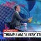 "White House adviser Stephen Miller appears on CNN anchor Jake Tapper Sunday show. After an exchange, Mr. Tapper cut off Mr. Miller's mic, saying, ""I think I've wasted enough of my viewers' time."" (CNN.com)"