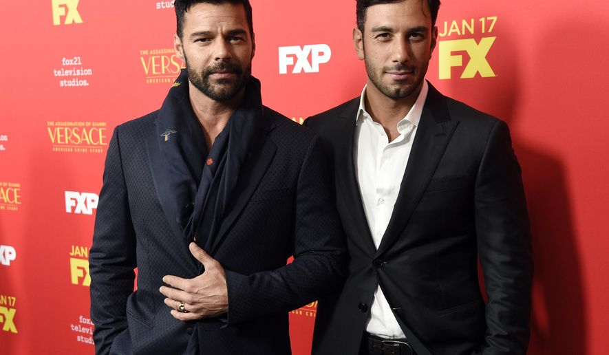 Ricky martin has married jwan yosef washington times m4hsunfo