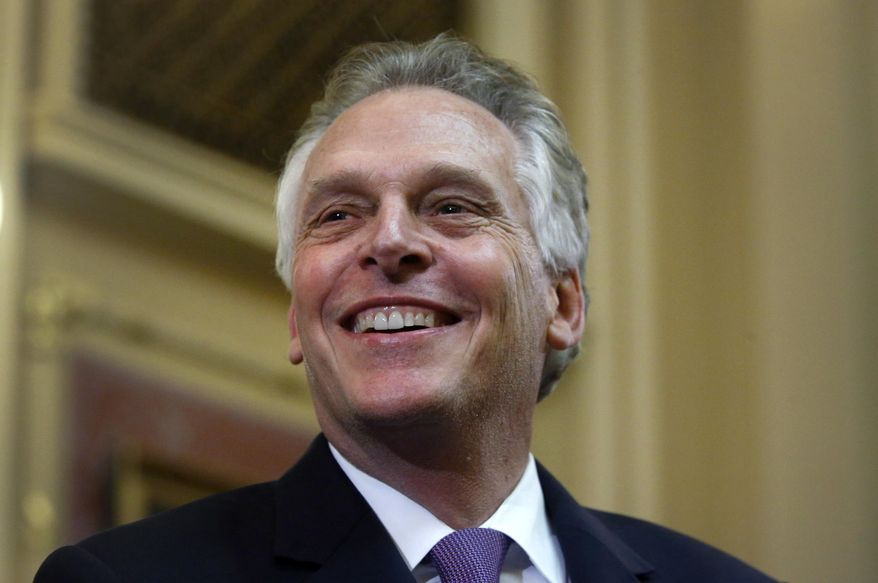 Terry McAuliffe says he'd punch Trump: 'You'd have to pick him up off the floor'