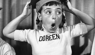 """This undated photo released by Disney, shows Disney Mouseketeer Doreen Tracey. Tracey, a former child star who played one of the original cute-as-a-button Mouseketeers on """"The Mickey Mouse Club"""" in the 1950s, died from pneumonia on Wednesday, Jan. 10, 2018, at a hospital in Thousand Oaks, Calif., following a two-year battle with cancer, according to Disney publicist Howard Green. She was 74. (Disney via AP)"""