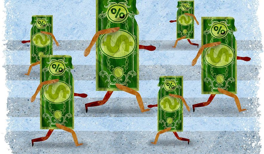 Influence of Tax Rates Illustration by Greg Groesch/The Washington Times