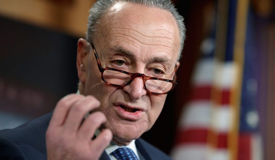 Sen. Charles E. Schumer. (Associated Press) ** FILE **