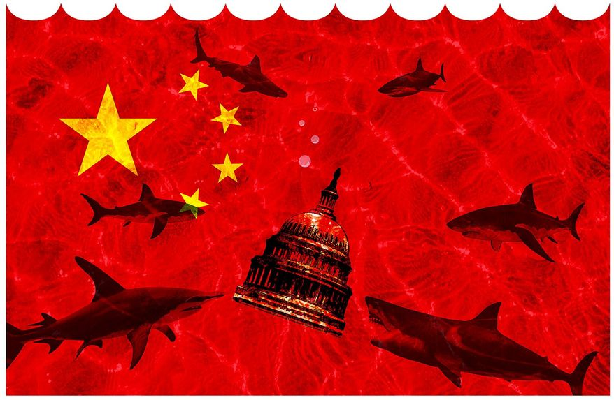 China Holding U.S. Debt Illustration by Greg Groesch/The Washington Times