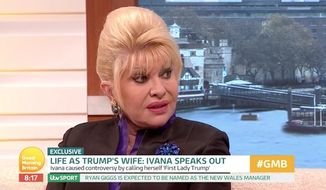 "President Trump's first wife Ivana Trump said Monday that her ex-husband is sharp as a tack, and while he may say ""silly"" things from time to time he is ""definitely"" not the racist many in the media are painting him to be. (ITV)"