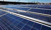 A U.S. trade commission is recommending that the Trump administration impose tariffs of up to 35 percent to slow an influx of low-cost solar panels imported from China and other countries. (Associated Press/File)