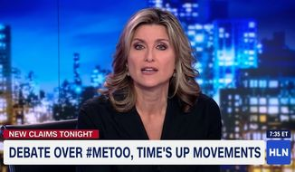 "HLN host Ashleigh Banfield delivered monologue Monday night tearing into an anonymous woman who accused comedian Aziz Ansari of sexual misconduct, saying the woman risked damaging the #MeToo movement over an encounter that was nothing more than a ""bad date."" (HLN)"
