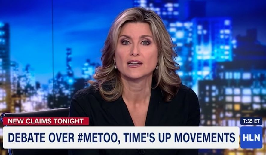 """HLN host Ashleigh Banfield delivered monologue Monday night tearing into an anonymous woman who accused comedian Aziz Ansari of sexual misconduct, saying the woman risked damaging the #MeToo movement over an encounter that was nothing more than a """"bad date."""" (HLN)"""