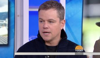 """Matt Damon apologized on the """"Today"""" show Tuesday after his comments on sexual harassment drew backlash one month ago. (NBC)"""
