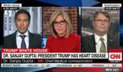 CNN's chief medical correspondent Dr. Sanjay Gupta disputed President Trump's clean bill of health this week, claiming that the numbers actually suggest the president has heart disease. (CNN)