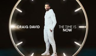 "This cover image released by RCA shows ""The Time Is Now,"" a release by Craig David. (RCA via AP)"