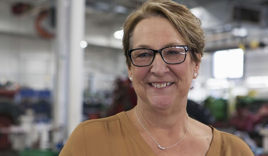 Democrat Patty Schachtner won Wisconsin state Senate race this month in a district that President Trump carried by a whopping 17 points in 2016. (Associated Press)