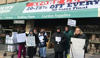 """""""(American University) raised the rent by about 30 percent,"""" said Johnson's Florist and Garden Center's General Manager John Williams about the why the store is closing. (COURTESY OF BILL RICE)"""