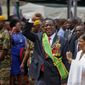 Zimbabwean President Emmerson Mnangagwa will tout what he says is a turnaround underway in one of Africa's poorest and most mismanaged countries. (Associated Press/File)
