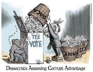 Democrats Amassing Corrupt Advantage