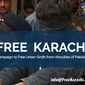 #Free Karachi Campaign ad