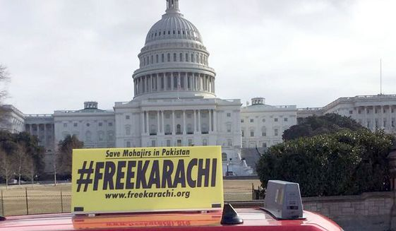 A group of U.S.-based American Mohajirs launched the #FreeKarachi Campaign on Jan. 15, 2018, Martin Luther King Jr. Day, in Washington, D.C.